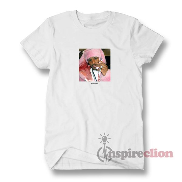 Mood Camron Dipset Killa Pink Meme Hip Hop T-Shirt Clothes