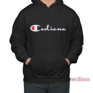 Lean Codiene Parody Champion Hoodie Adult