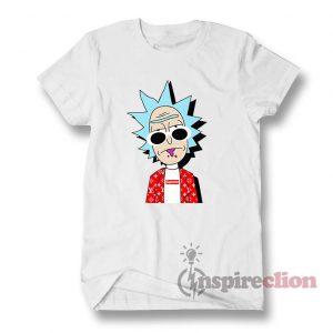 Rick Hypebeast Supreme LV T-shirt