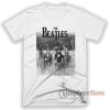 The Beatles Last Photo Shoot T-Shirt Adult Unisex