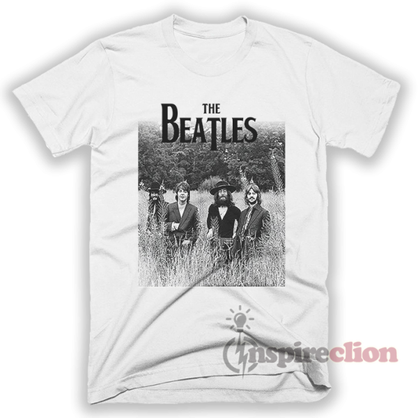 The Beatles Last Photo Shoot T-Shirt Adult Unisex