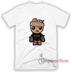 Baby Groot Monogram Gucci Style T-Shirt