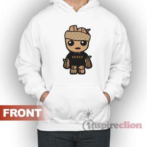Baby Groot Gucci Monogram Baby Groot Hoodie