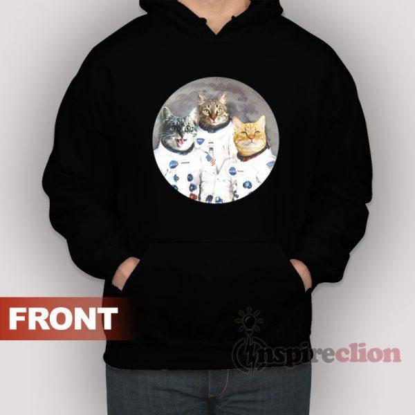Catstronauts Cat Kennedy Space Center Hoodie