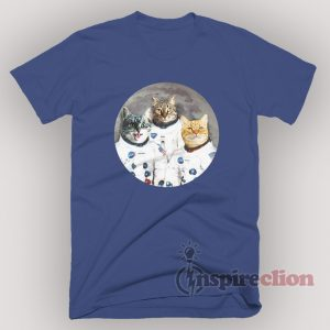 Catstronauts Cat Kennedy Space Center Voyager T-Shirt