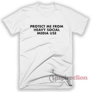 Heavy Social Media Use T-Shirt Unisex