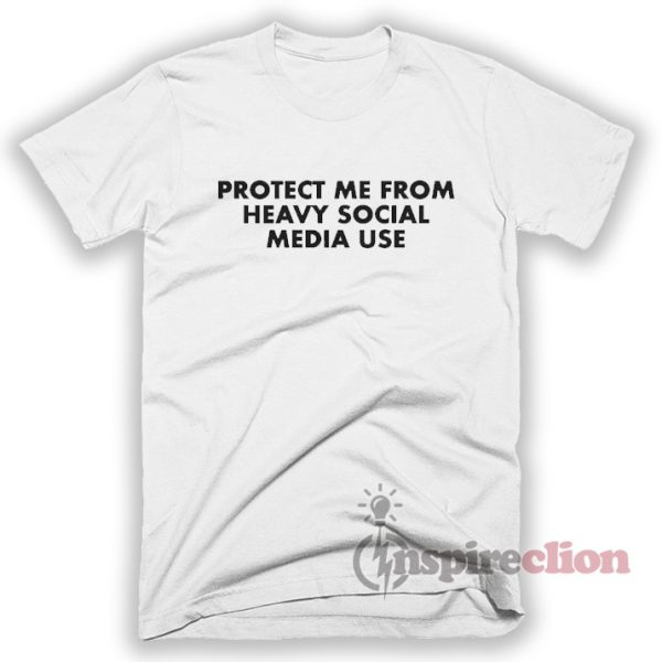 Heavy Social Media Use T-Shirt Unisex