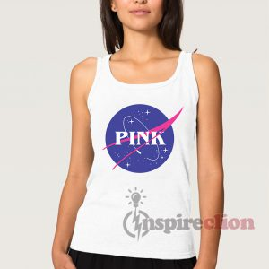 PINK Space Center NASA Tank Top Cheap Trendy