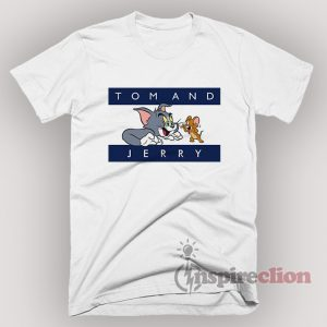 Tom And Jerry Tommy Parody T-Shirt Joke