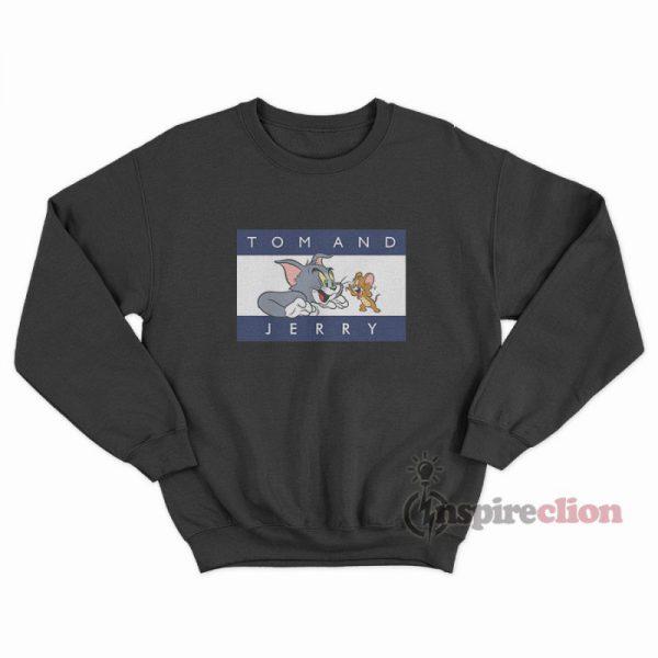 Tom And Jerry Tommy Parody Sweatshirt