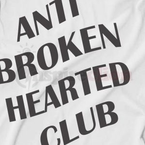 Anti Broken Hearted Club Replica ASSC Logo T-shirt