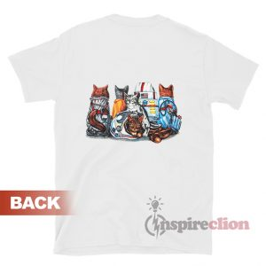Cat Kennedy Space Center Voyager T-Shirt