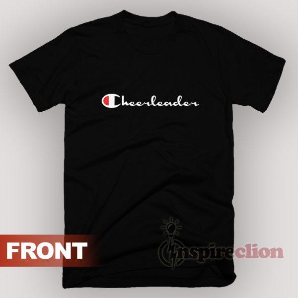 For Sale Leader Cheerleader Champion Logo Parody T-Shirt