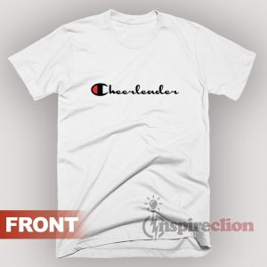For Sale Leader Cheerleader Champion Logo Parody T-Shirt
