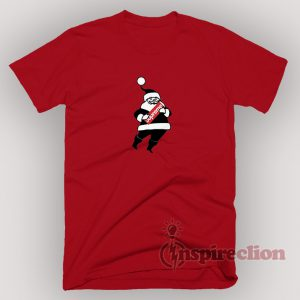 Santa Claus Christmas XMAS with the Supreme T-Shirt