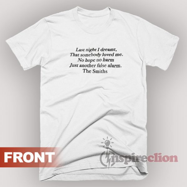 False Alarm The Smith T-Shirt Unisex