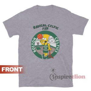 Bart Simpson Radical Boston Celtics Fan T-Shirt Clothes