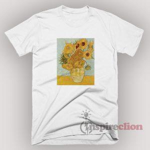 Sun Flower Bestand Vincent Willem van Gogh T-shirt