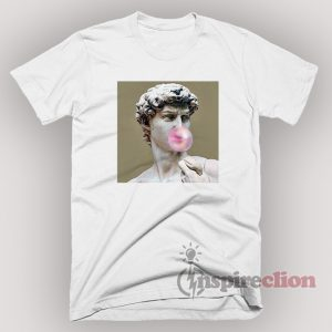 Bubblegum David Graphic T-Shirt