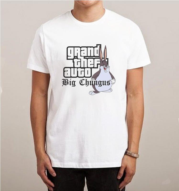 Grand Theft Auto Big Chungus Parody Meme T Shirt Inspireclion Com