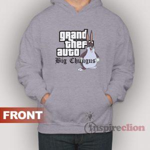 Grand Theft Auto Big Chungus Parody Meme Hoodie
