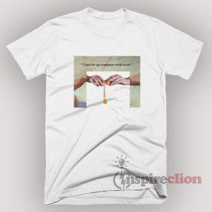 Hand Of Gods Crack The Egg Instagram World Record Parody T-Shirt