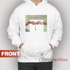 Hand Of Gods Crack The Egg Instagram World Record Parody Hoodie