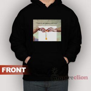 Hand Of Gods Crack The Egg Instagram World Record Parody Sweatshirt
