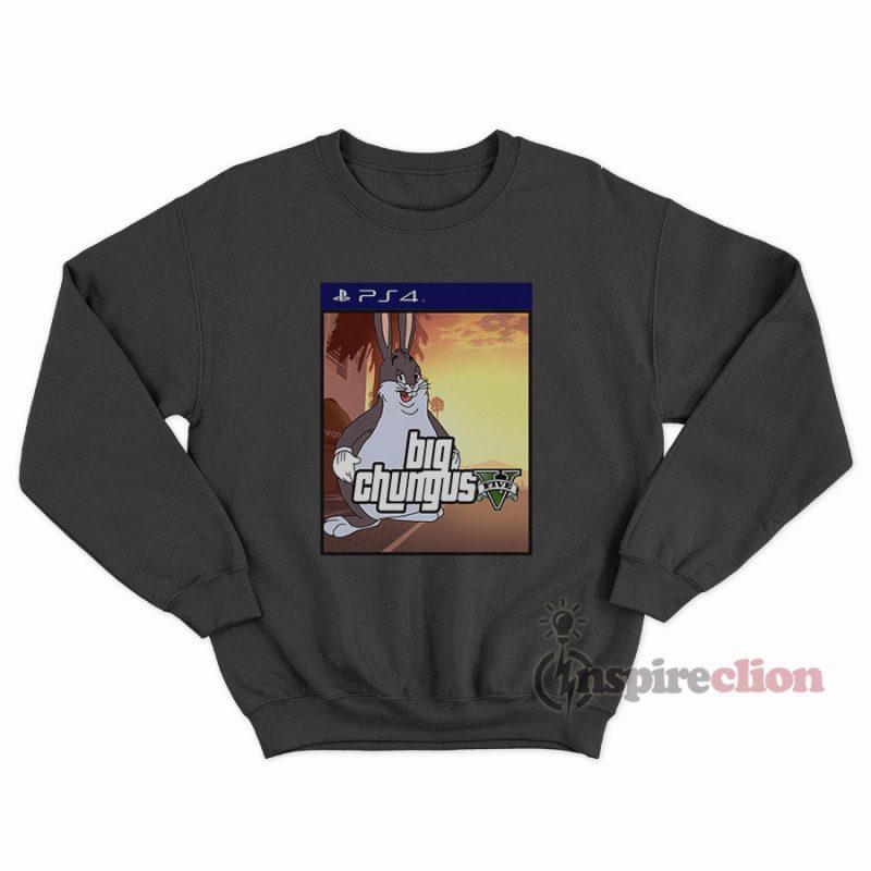 Big Chungus Gta V X Sony Playstation 4 Sweatshirt Inspireclion Com