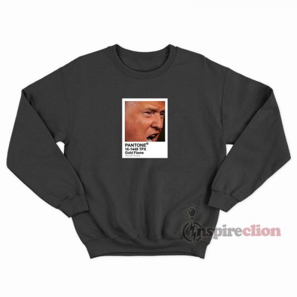Pantone Color Donald Trump Parody Meme Sweatshirt