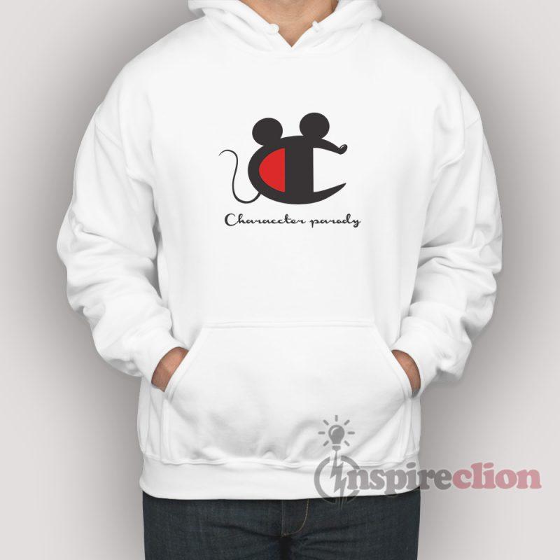 78953360d Vintage Champion Mickey Mouse Parody Hoodie Unisex - Inspireclion.com