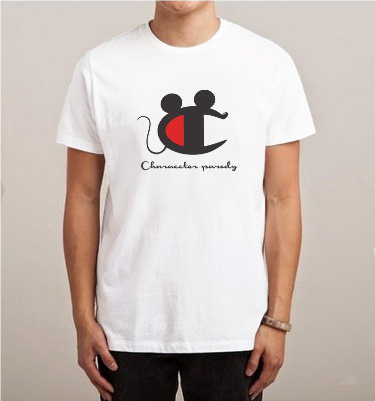 994da7996 Champion Mickey Mouse Character Parody T-Shirt - Inspireclion.com