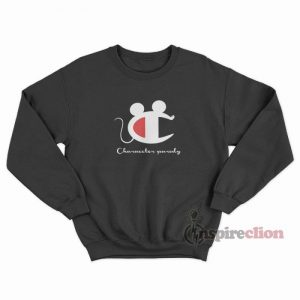 Vintage Champion Mickey Mouse Character Parody Sweatshirt