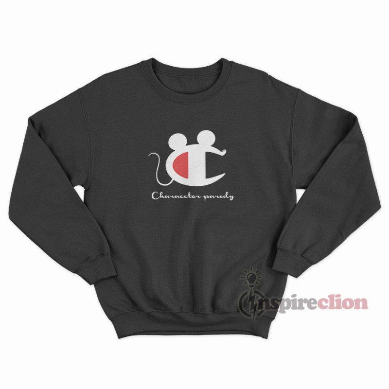 ff9621ecd Vintage Champion Mickey Mouse Character Parody Sweatshirt ...