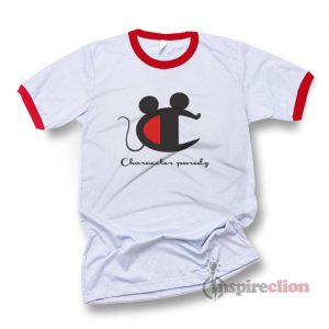 Vintage Champion Mickey Mouse Character Ringer T-shirt