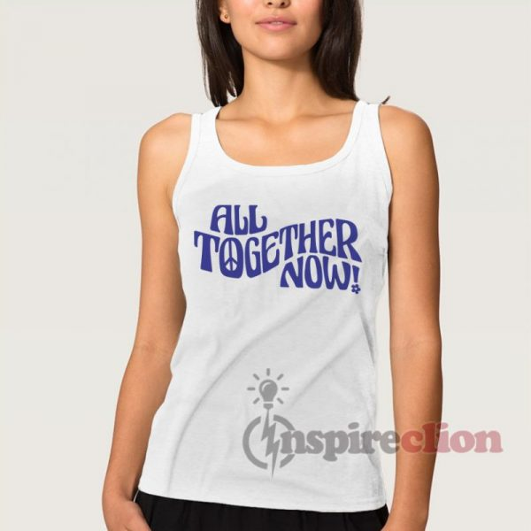 All Together Now Vintage Inspired Graphic Tank Top
