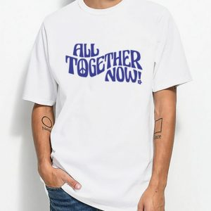 All Together Now Vintage Inspired Graphic T-Shirt