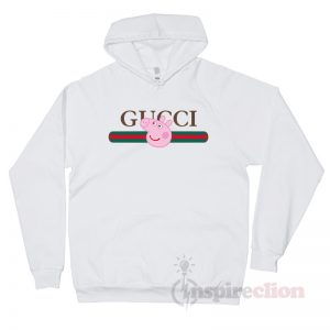 For Sale Gucci x Peppa Pig Pecs Belt Logo Hoodie Unisex