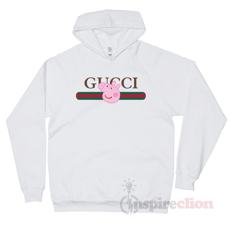 big sale outlet on sale best loved For Sale Gucci x Peppa Pig Pecs Belt Logo Hoodie Unisex - Inspireclion