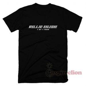 Billie Eilish 1 By 1 World Tour T-Shirt