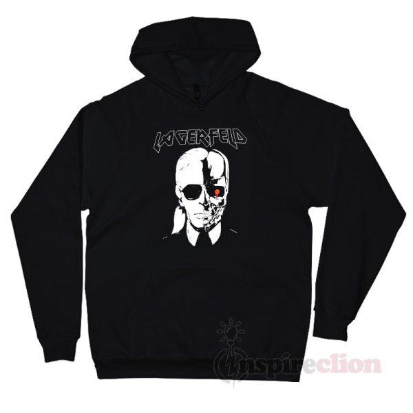 StyleStalker Lagerfeld Metal Hoodie Unisex