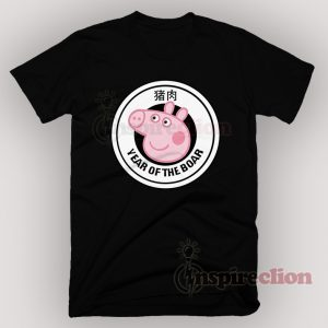 Piggy Gang Peppa Pig YEAR OF THE BOAR T-shirt