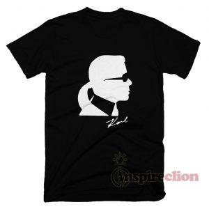 Karl Lagerfeld Boys Silhouette T-Shirt unisex