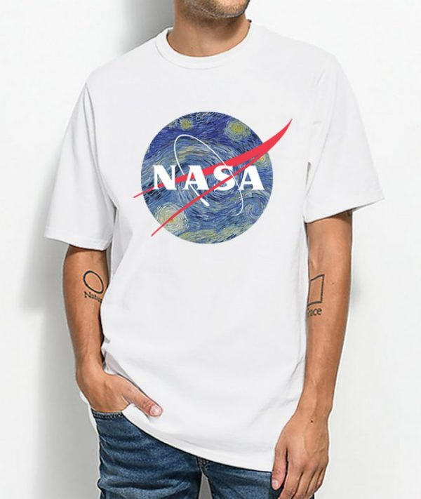 Nasa x Van Gogh Starry Night T-shirt