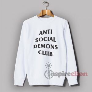 Anti Social Demons Club Sweatshirt Unisex