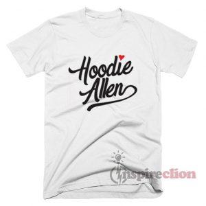 Hoodie Allen Heart Love T-shirt Custom