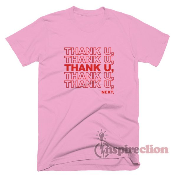Thank You, Next Ariana Grande's Song T-shirt