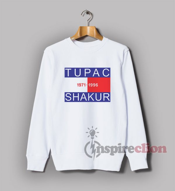 Tupac Shakur RIP Memorial Legend Rap Hip Hop Sweatshirt