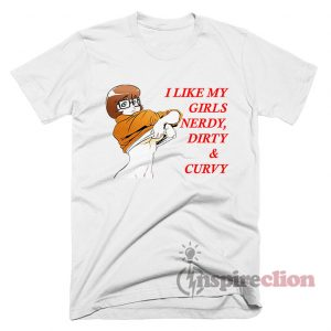 Hot Velma Dirty Curvy Nerdy Scooby Doo T-Shirt