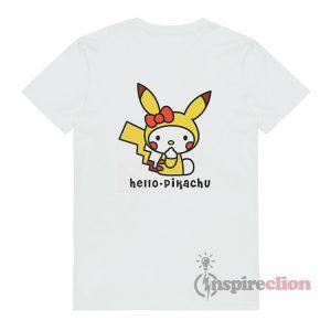 Hello Kitty x Pikachu Funny T-Shirt